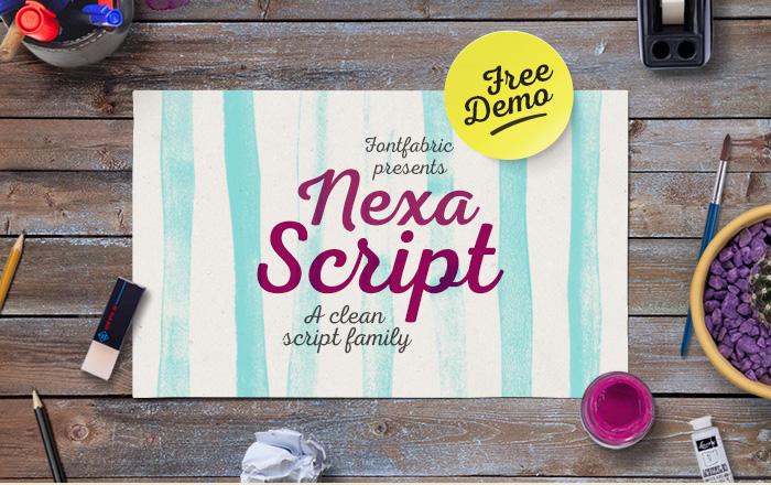 NexaScript01-free-font