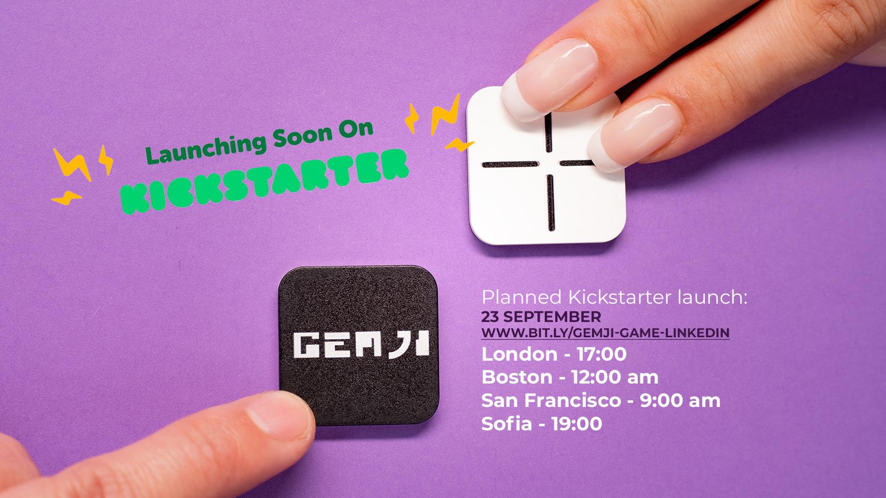 GEMJI Magnetic Board Game System on Kickstarter