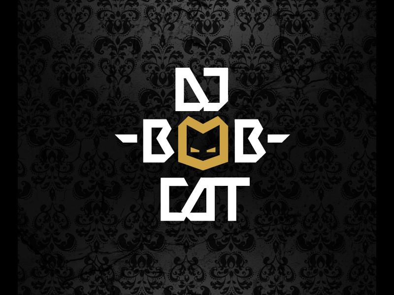 dj-bobcat-logo-design-by-ralev