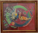 pauni-original-silk-art-by-shtebetovska